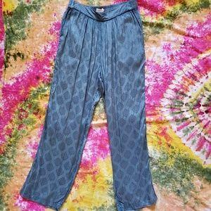 UO pajama-style pant